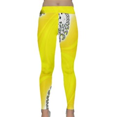 Fractal Abstract Background Classic Yoga Leggings