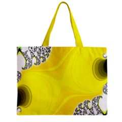 Fractal Abstract Background Zipper Mini Tote Bag