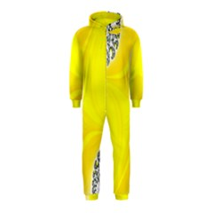 Fractal Abstract Background Hooded Jumpsuit (Kids)