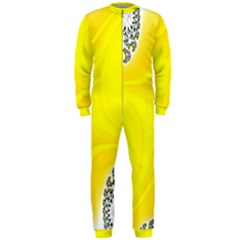 Fractal Abstract Background Onepiece Jumpsuit (men)