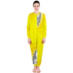 Fractal Abstract Background OnePiece Jumpsuit (Ladies)