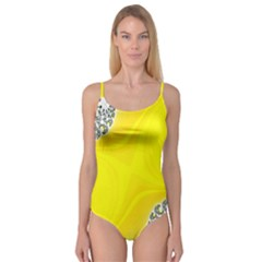 Fractal Abstract Background Camisole Leotard