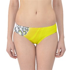 Fractal Abstract Background Hipster Bikini Bottoms