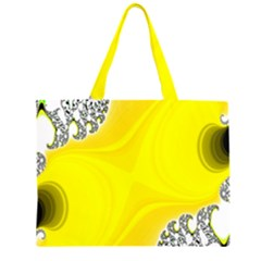 Fractal Abstract Background Large Tote Bag