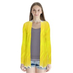 Fractal Abstract Background Cardigans