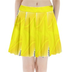 Fractal Abstract Background Pleated Mini Skirt