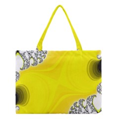 Fractal Abstract Background Medium Tote Bag