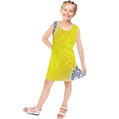 Fractal Abstract Background Kids  Tunic Dress