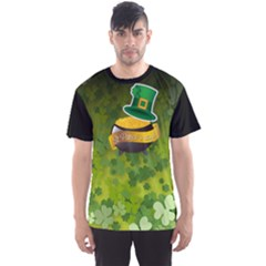 St Patricks Day Men s Sport Mesh Tee