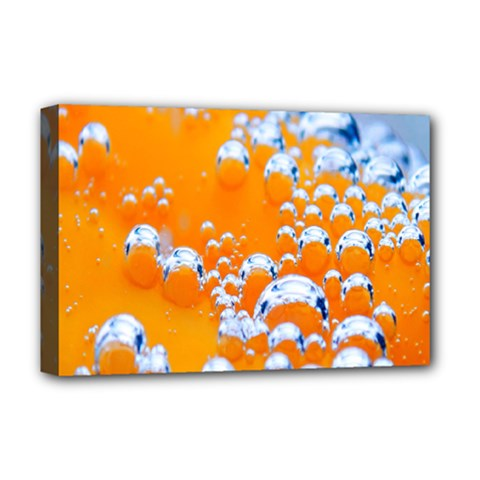 Bubbles Background Deluxe Canvas 18  x 12