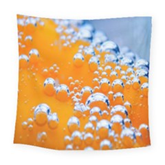 Bubbles Background Square Tapestry (large)