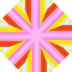 Multi Colored Bright Stripes Striped Background Wallpaper Folding Umbrellas