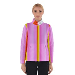 Multi Colored Bright Stripes Striped Background Wallpaper Winterwear