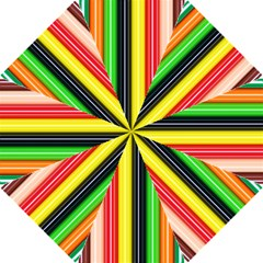 Colorful Striped Background Wallpaper Pattern Hook Handle Umbrellas (small)