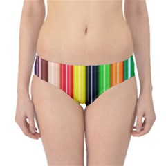 Colorful Striped Background Wallpaper Pattern Hipster Bikini Bottoms