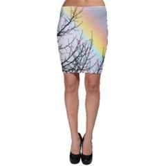 Rainbow Sky Spectrum Rainbow Colors Bodycon Skirt