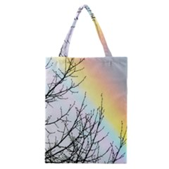 Rainbow Sky Spectrum Rainbow Colors Classic Tote Bag