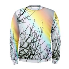 Rainbow Sky Spectrum Rainbow Colors Men s Sweatshirt