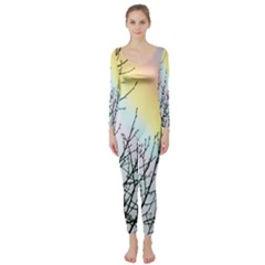 Rainbow Sky Spectrum Rainbow Colors Long Sleeve Catsuit