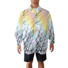 Rainbow Sky Spectrum Rainbow Colors Wind Breaker (kids)