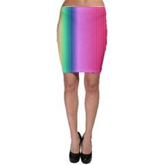 Abstract Paper For Scrapbooking Or Other Project Bodycon Skirt
