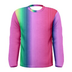 Abstract Paper For Scrapbooking Or Other Project Men s Long Sleeve Tee