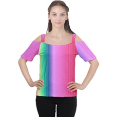 Abstract Paper For Scrapbooking Or Other Project Women s Cutout Shoulder Tee