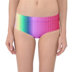 Abstract Paper For Scrapbooking Or Other Project Mid Waist Bikini Bottoms
