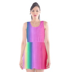 Abstract Paper For Scrapbooking Or Other Project Scoop Neck Skater Dress