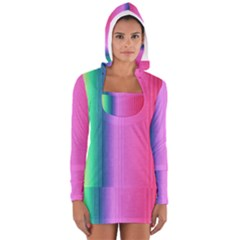 Abstract Paper For Scrapbooking Or Other Project Women s Long Sleeve Hooded T Shirt