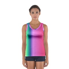 Abstract Paper For Scrapbooking Or Other Project Women s Sport Tank Top