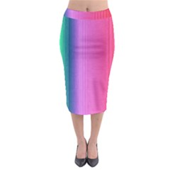 Abstract Paper For Scrapbooking Or Other Project Midi Pencil Skirt