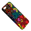 Digitally Created Abstract Patchwork Collage Pattern Apple iPhone 5 Hardshell Case View5