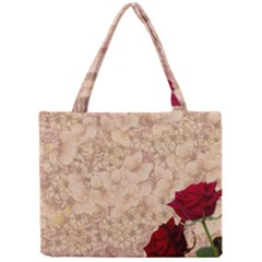 Retro Background Scrapbooking Paper Mini Tote Bag