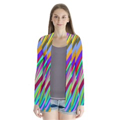 Multi Color Tangled Ribbons Background Wallpaper Cardigans