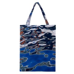 Colorful Reflections In Water Classic Tote Bag
