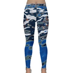 Colorful Reflections In Water Classic Yoga Leggings