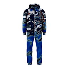Colorful Reflections In Water Hooded Jumpsuit (kids)