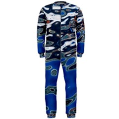 Colorful Reflections In Water OnePiece Jumpsuit (Men)