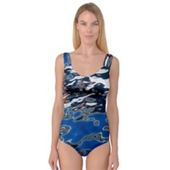 Colorful Reflections In Water Princess Tank Leotard