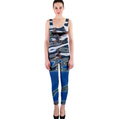 Colorful Reflections In Water OnePiece Catsuit