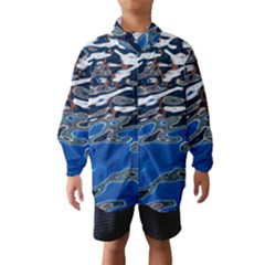 Colorful Reflections In Water Wind Breaker (kids)