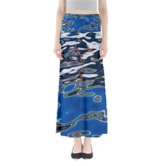 Colorful Reflections In Water Maxi Skirts
