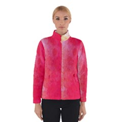 Abstract Red And Gold Ink Blot Gradient Winterwear