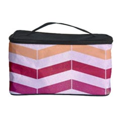 Abstract Vintage Lines Cosmetic Storage Case