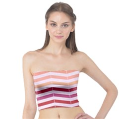 Abstract Vintage Lines Tube Top