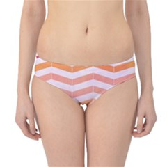 Abstract Vintage Lines Hipster Bikini Bottoms