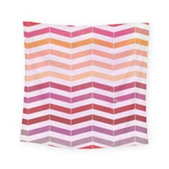 Abstract Vintage Lines Square Tapestry (small)