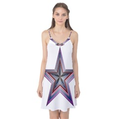 Star Abstract Geometric Art Camis Nightgown