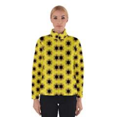 Yellow Fractal In Kaleidoscope Winterwear